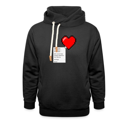 Options of the heart - Unisex hoodie med sjalskrave