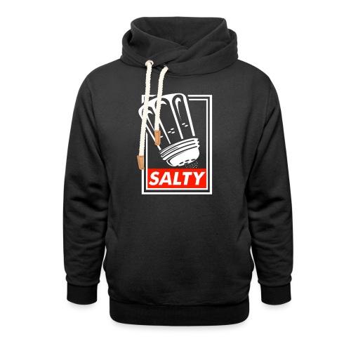 Salty white - Shawl Collar Hoodie