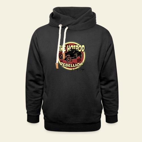 hotrod rebellion - Hoodie med sjalskrave