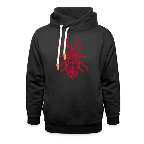 insectum - Unisex hoodie med sjalskrave