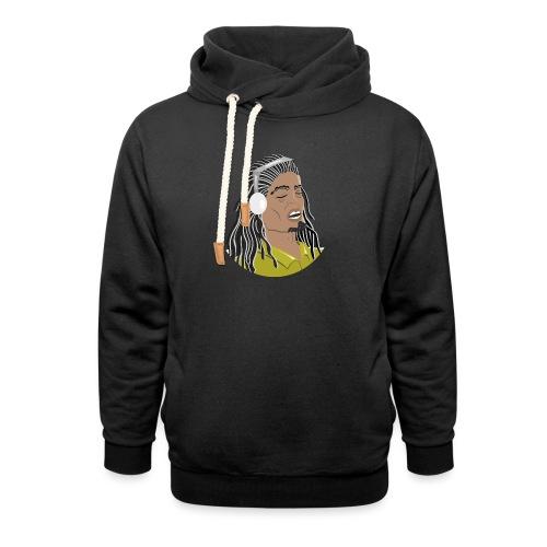Dreadlock Man - Shawl Collar Hoodie