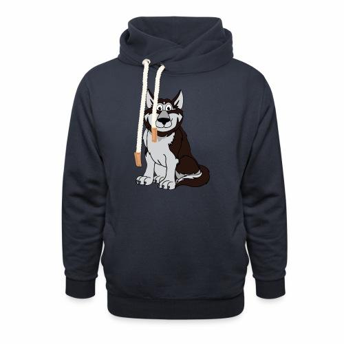 Husky - Schalkragen Hoodie