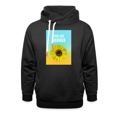 sunflower endless summer Sonnenblume Sommer - Shawl Collar Hoodie
