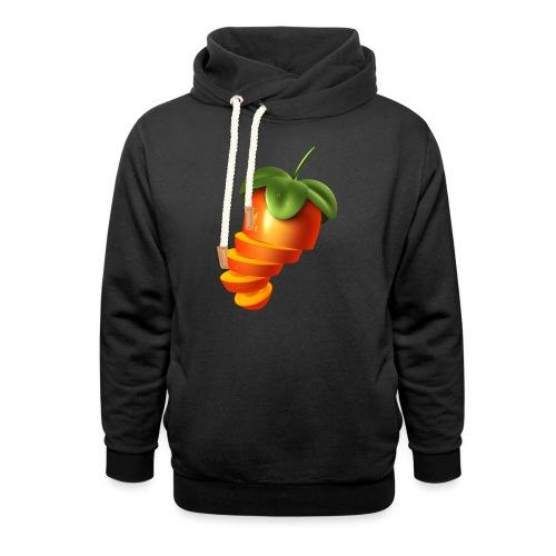 Sliced Sweaty Fruit - Unisex Shawl Collar Hoodie