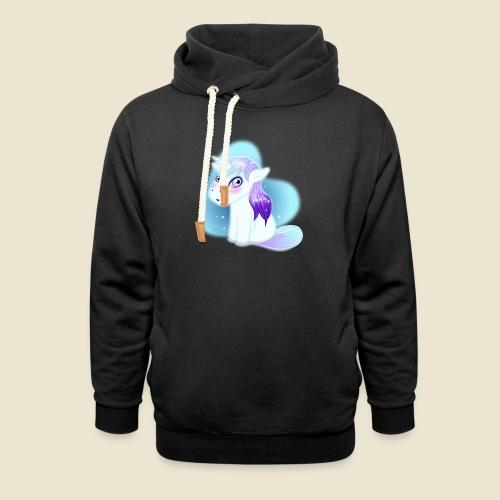 Licorne n°2 - Sweat à capuche cache-cou