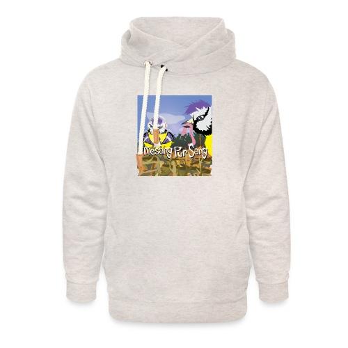 Mesang Pur Sang - Unisex sjaalkraag hoodie
