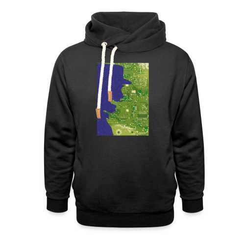 Rinus Van De Melkwegboer - Unisex sjaalkraag hoodie
