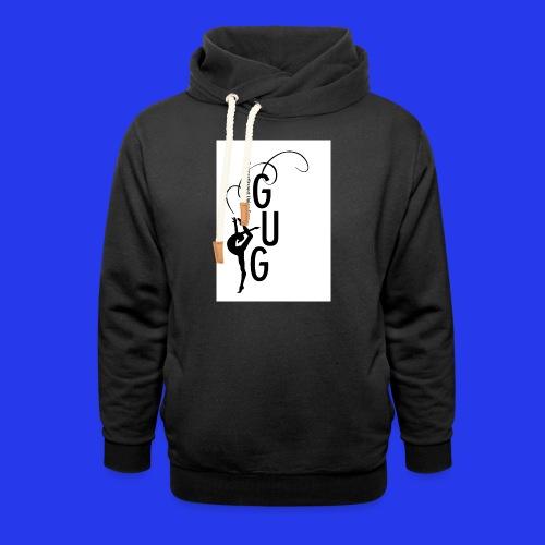 GUG Logo - Unisex Schalkragen Hoodie