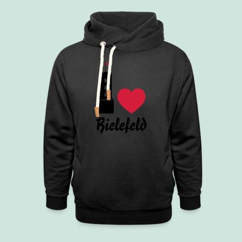 I love Bielefeld - Schalkragen Hoodie
