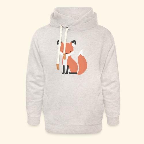 Fox Fox - Unisex Shawl Collar Hoodie