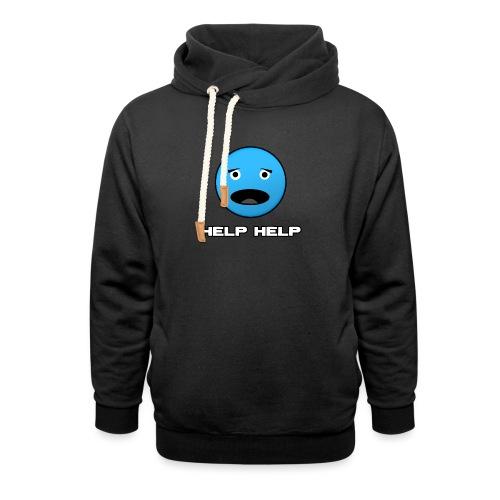 Shirt Help Help - Sjaalkraag hoodie