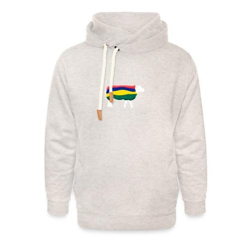 Schaap van Terschelling - Unisex sjaalkraag hoodie