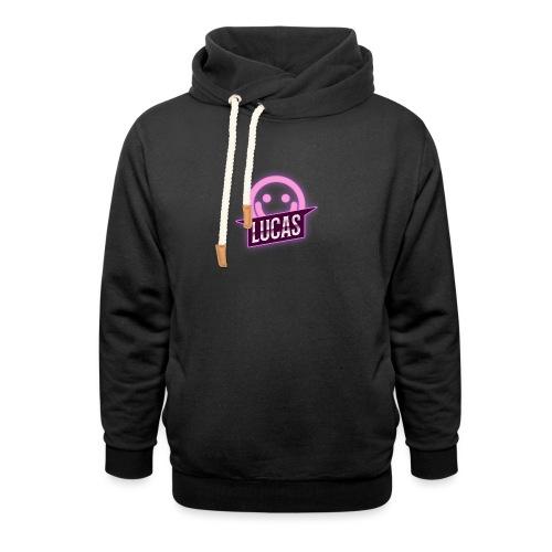 Lucas Artzzz (Smile) - Unisex sjaalkraag hoodie