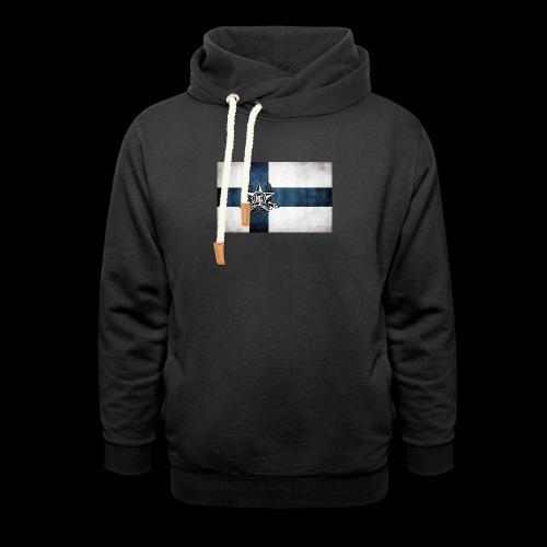Suomen lippu - Huivikaulus huppari