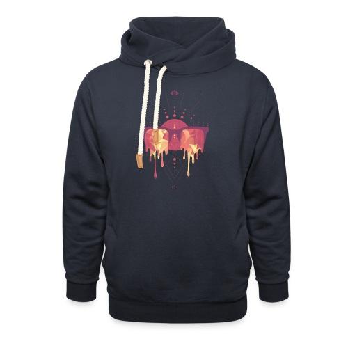 summer png - Unisex hoodie med sjalskrave