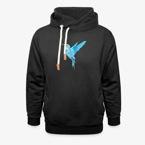 Kolibri Geometrisch - Unisex Schalkragen Hoodie