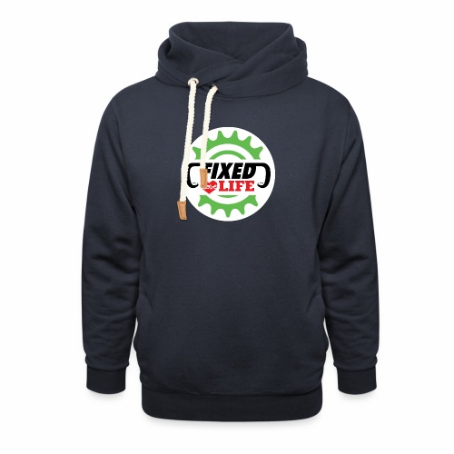 fixed love life - Felpa con colletto alto unisex