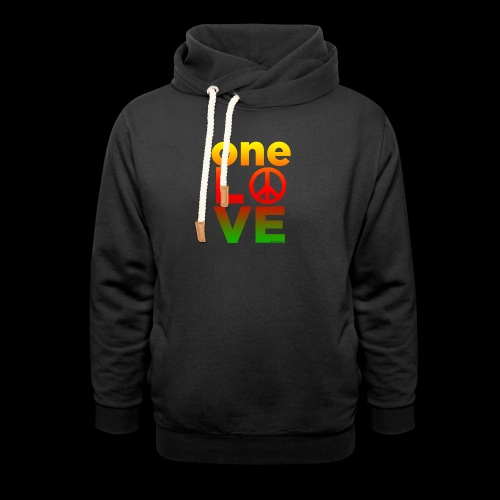 ONE LOVE PEACE ICON - Schalkragen Hoodie