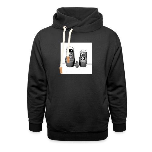 0342 Shirt ROBOT Bot IIII - Schalkragen Hoodie