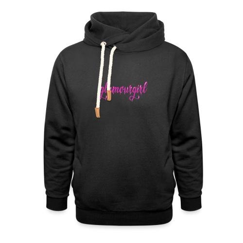 Glamourgirl dripping letters - Unisex sjaalkraag hoodie