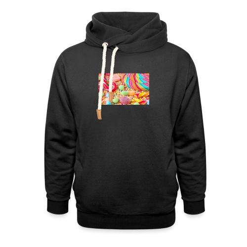 snoep afdruk/print - Unisex sjaalkraag hoodie