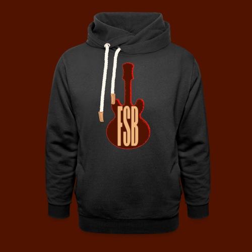FSB Guitar Logo - Unisex Shawl Collar Hoodie