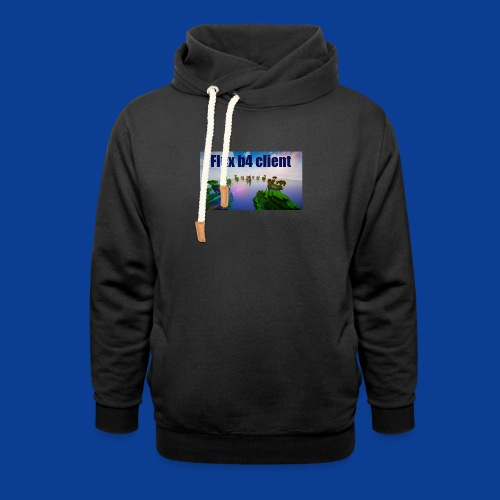 Flux b4 client Shirt - Shawl Collar Hoodie