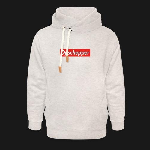 Opschepper Classic (Rood) - Unisex sjaalkraag hoodie