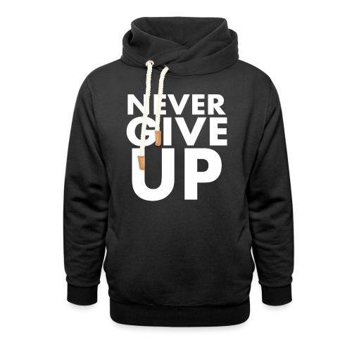 Nigdy nie poddawaj się - Bluza z szalowym kołnierzem