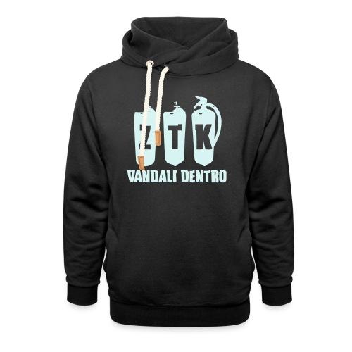 ZTK Vandali Dentro Morphing 1 - Shawl Collar Hoodie
