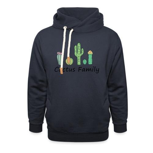 Cactus family - Schalkragen Hoodie