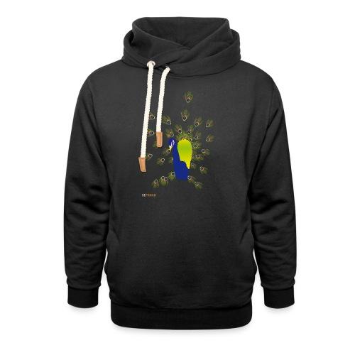 BEPROUD.png - Sjaalkraag hoodie