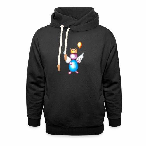 Mettalic Angel geluk - Sjaalkraag hoodie