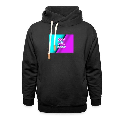 Sk Shirt - Unisex sjaalkraag hoodie