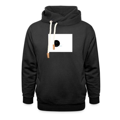 youtube logo - Sjaalkraag hoodie