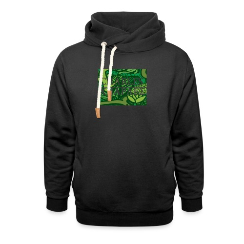 CHARLES CHARLES JUNGLE PRINT - LIMITED EDITION - Shawl Collar Hoodie