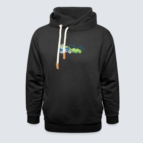 HDC jubileum logo - Unisex sjaalkraag hoodie