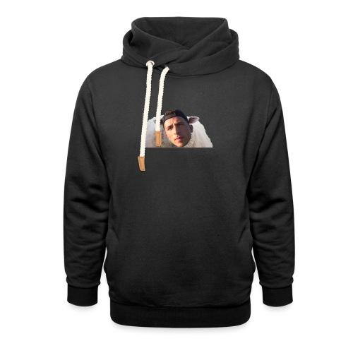 TVS het Armo Schaap en SHIT - Unisex sjaalkraag hoodie