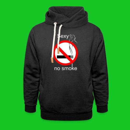 Sexy no smoke - Sjaalkraag hoodie