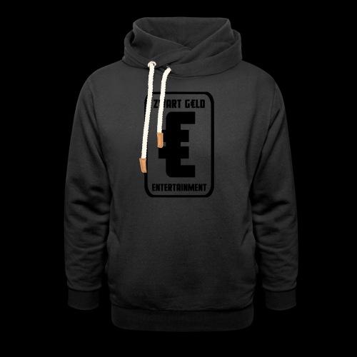 ZwartGeld Logo Sweater - Sjaalkraag hoodie