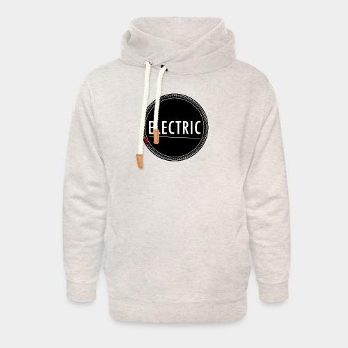 Electric (red light) - Unisex Schalkragen Hoodie