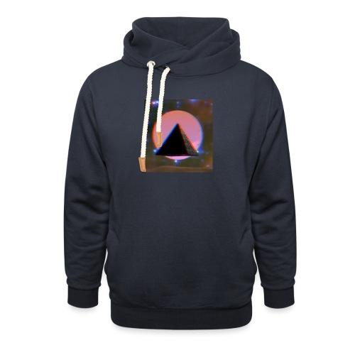 Pyramide - Schalkragen Hoodie