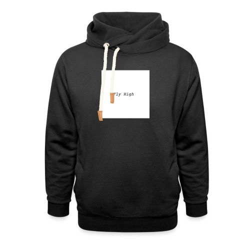 Fly High Design - Unisex Shawl Collar Hoodie