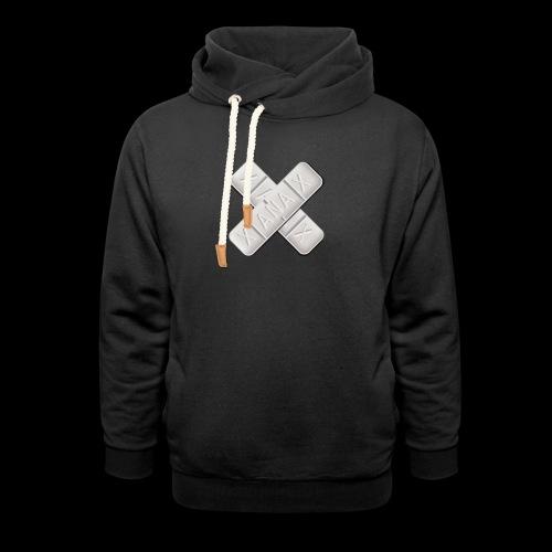 Xanax X Logo - Unisex Schalkragen Hoodie