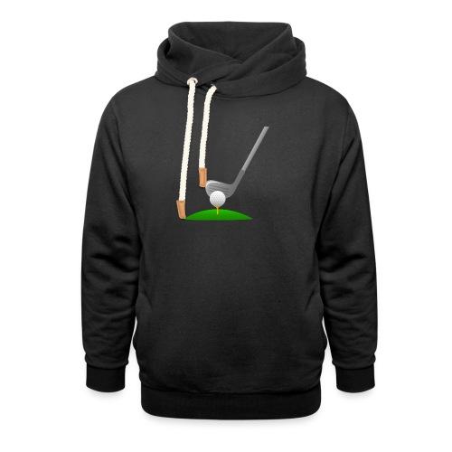 Golf Ball PNG - Sudadera con capucha y cuello alto