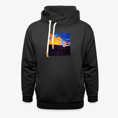 Artistic Sunset - Felpa con colletto alto