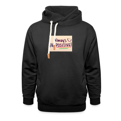 Bamse - Unisex hoodie med sjalskrave