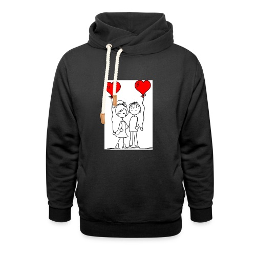 You and me - Unisex Shawl Collar Hoodie