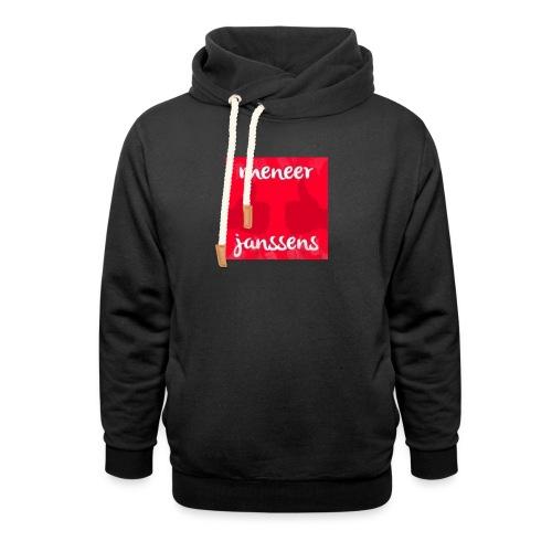 Sweater Meneer Janssens - Sjaalkraag hoodie