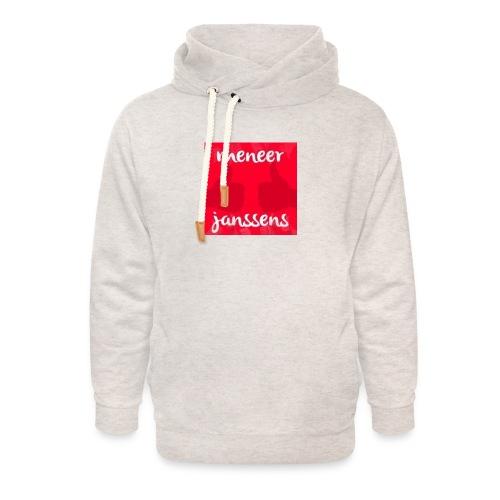 Sweater Meneer Janssens - Unisex sjaalkraag hoodie